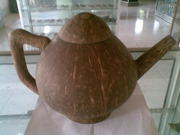 Art handycrafts of Indah Creation (Bali)coconut shell tea pot