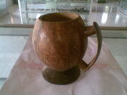Art handycrafts of Indah Creation (Bali)coconut shell cup