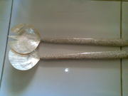 Art handycrafts of Indah creation(Bali)Sea shell long spoon2
