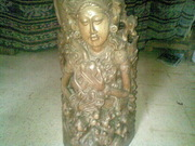Art gallery of Mr M Wayan Wetja's(Bali)Lady mermaid wood carving