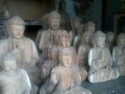 Budha wood carving
