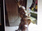 Art Gallery of MrM Wayan Wetja's(Bali)up one hand statue