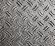 Steel checker plate provided various bar patterns