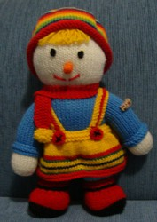 Soft Toy Handmade Doll Twin Suzie Scarecrow Family Christmas Gift New